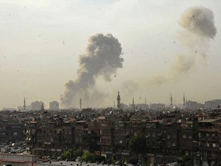 """רמטכ""""ל בריטניה נגד התערבות צבאית בסוריה (צילום: סוכנות הידיעות הסורית)"""