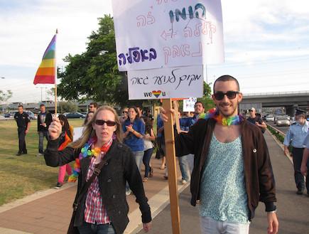 מצעד הגאווה בראשון לציון 2011 (צילום: עמי שירן)