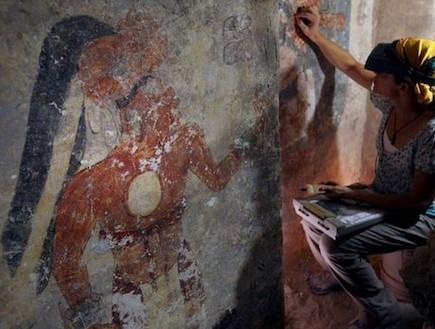 ציור קיר בחולטון