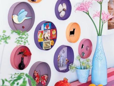 marieclaiemasion-קיר קופסאות גבינה (צילום: צילום: מגזין מארי קלייר)
