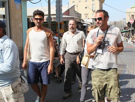כוכבי הומלנד בישראל פפראצי (צילום: ראובן שניידר )
