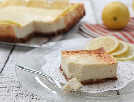 עוגת גבינה לימונית (צילום: בני גם זו לטובה, אוכל טוב)
