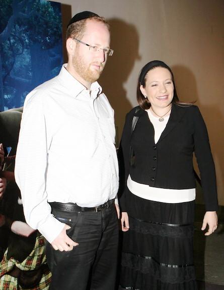 אירוע השקה קטמנדו - סיון רהב ובעלה (צילום: ראובן שניידר )