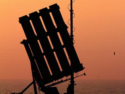 """כיפת ברזל (צילום: דובר צה""""ל)"""