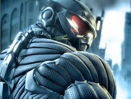 """ננוטכנולוגיה בצבא (צילום: מתוך משחק המחשב """"Crysis"""")"""