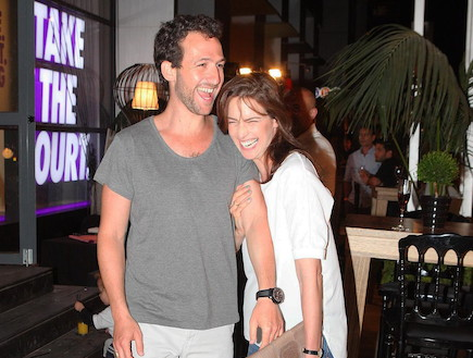 אירוע נייקי 2012 - יעל גולדמן ואורי פפר (צילום: ראובן שניידר )