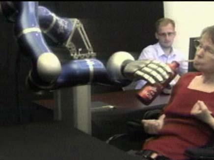 רובוט קורא מחשבות (צילום: חדשות 2)