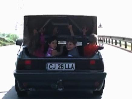 סיבוב מסוכן במיוחד בכביש המהיר