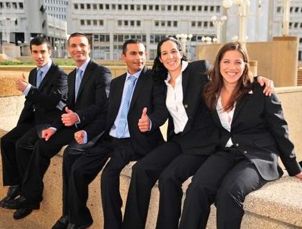 סמואל, פיזרו, כהן, מג´נגי ולינסקי (רזי לבנת) (צילום: מערכת ONE)