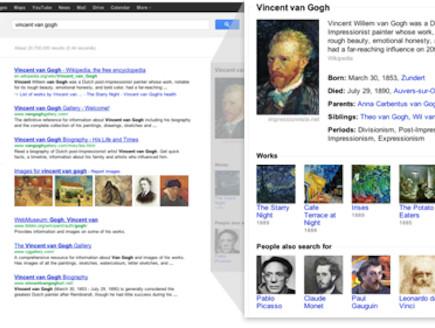 the Knowledge Graph, מנוע החיפוש החדש של גוגל (צילום: אתר רשמי, גוגל)