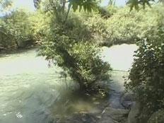 המקום בו טבעה שפט למוות, בנחל הבניאס