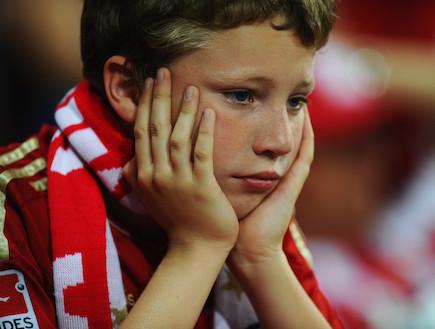 אוהד גרמני בוכה (צילום: Mike Hewitt, GettyImages IL)