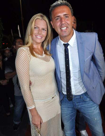 קובי פרץ מופיע 2012 - קובי פרץ ואשתו (צילום: צ'ינו פפראצי)