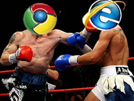 גוגל כרום VS אינטרנט אקספלורר (צילום: אילוסטרציה)