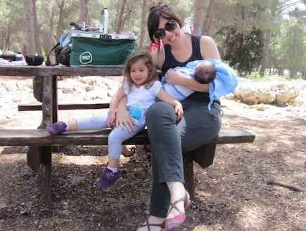 לילי עם אוהד ואלה (צילום: תומר ושחר צלמים)