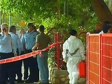זירת הרצח בבאר שבע, מאי 2012