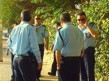 השוטרים בזירת האירוע, הבוקר