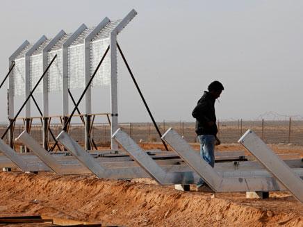 הגדר בגבול מצרים. ארכיון (צילום: רויטרס)