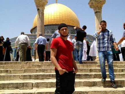 הרקדן המוסלמי של מדונה (צילום: טוויטר)