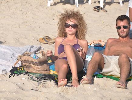 יוליה פלוקטין בים, הישרדות VIP (צילום: צ'ינו פפראצי)