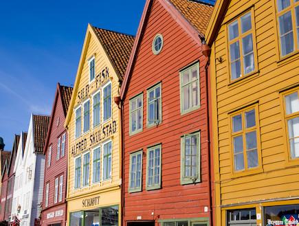 הבתים בבריגן (צילום: אימג'בנק / Thinkstock)