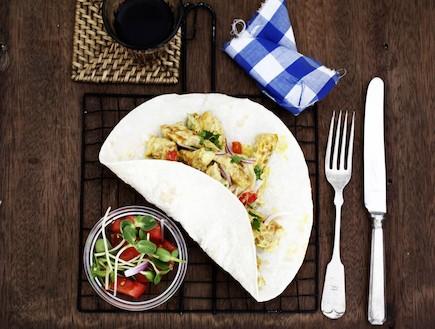 סלט חזה עוף במיונז - אחרי (צילום: אפיק גבאי, אוכל טוב)