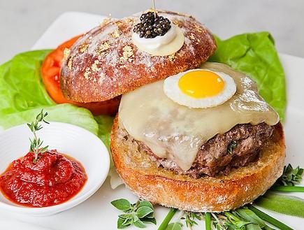 ההמבורגר הכי יקר בעולם (צילום: worldrecordsacademy.org)