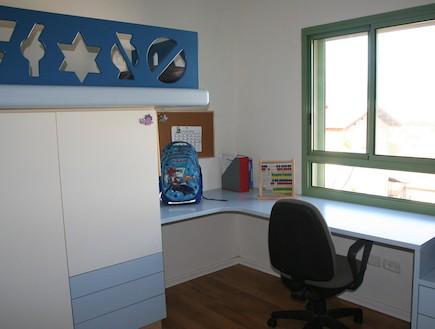 הבית בטבעון -חדר ילדים (צילום: שרון קנה)
