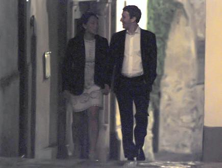 מארק צוקרברג ופריסילה צ'אן בירח דבש באיטליה