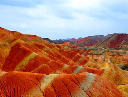 חולות צבעוניים בסין 2