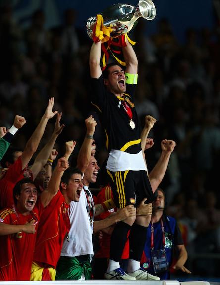 ספרד זוכה ביורו (צילום: Laurence Griffiths, GettyImages IL)