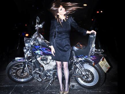זהבה בן אופנוע (צילום: פיני סילוק)