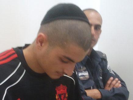 """עדן אוחיון, מואשם ברצח גדי ויכמן ז""""ל (צילום: חדשות 2)"""
