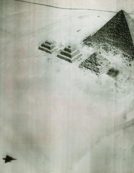 """הפירמידות במצרים (צילום: אתר צה""""ל)"""