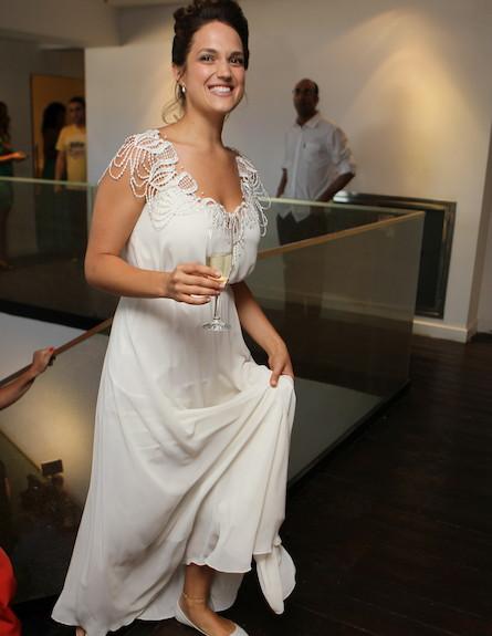 חתונה מרינה מקסימיליאן בלומין (צילום: ראובן שניידר )