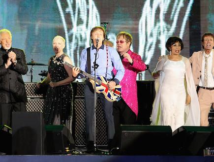 הופעה למלכה (צילום: Dan Kitwood, GettyImages IL)