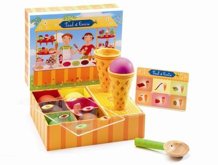 משחק מוכר גלידה DJECO. 179 שקלים (צילום: מתוך האתר- www.nimigo.com)