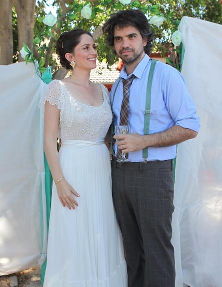 חתונה טלי שרון (צילום: ראובן שניידר )