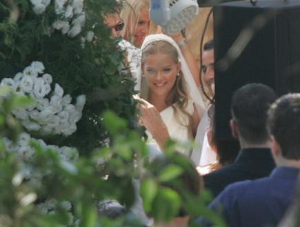 חתונה אסתי גינזבורג 3 (צילום: ראובן שניידר )