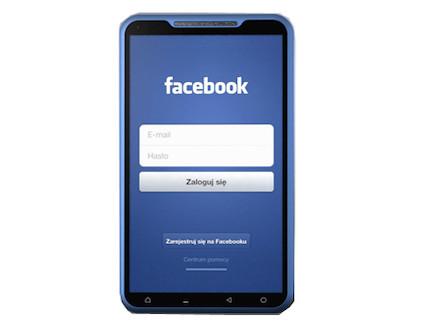 קונספט לטלפון של פייסבוק (מתוך: yankodesign.com)