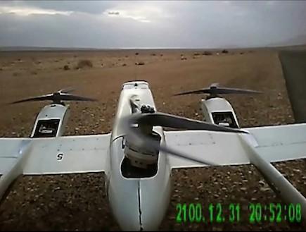 כלי טיס בלתי מאויש (צילום: התעשייה האווירית)