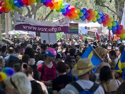 מצעד הגאווה בתל אביב 2012 1 (צילום: שי בן נפתלי)