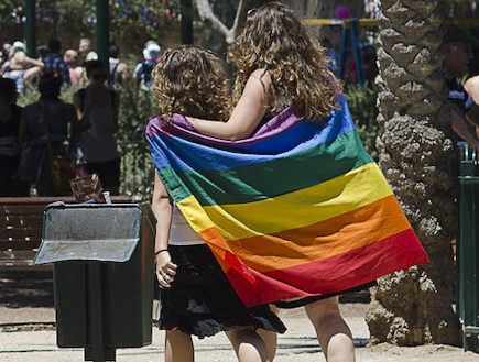 מצעד הגאווה בתל אביב 2012 2 (צילום: שי בן נפתלי)
