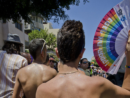 מצעד הגאווה בתל אביב 2012 16 (צילום: שי בן נפתלי)