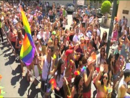 מצעד הגאווה תל אביב 2012 (תמונת AVI: mako)
