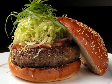 הארטבורגר של מוזס (צילום: שי בן אפרים,  יחסי ציבור )