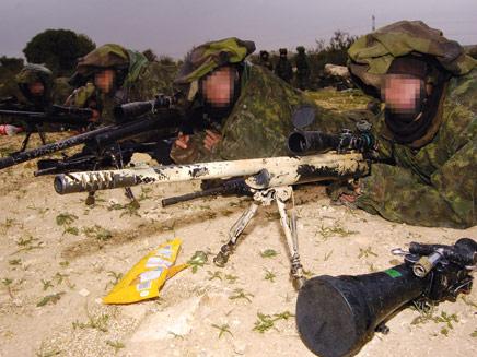 """צלפים צבאיים (צילום: אתר צה""""ל)"""