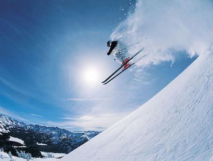 סקי (צילום: ThinkStock)