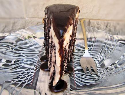 עוגת זברה (צילום: דליה מאיר, קסמים מתוקים)