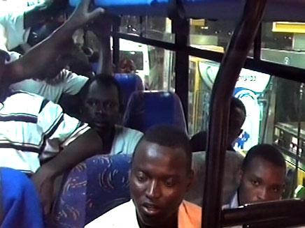 144 דרום סודנים ישובו למולדתם (צילום: חדשות 2)